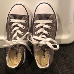 Converse Kids size 11.5 brown/